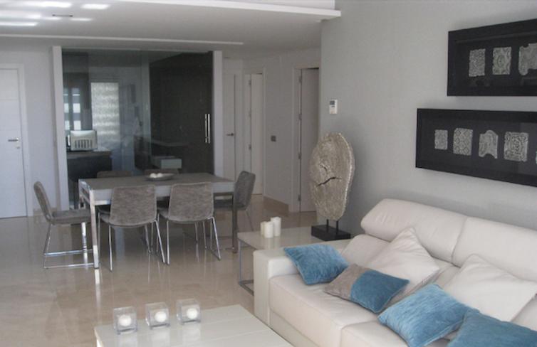 Cómo decorar un apartamento de playa, vivienda en marbella