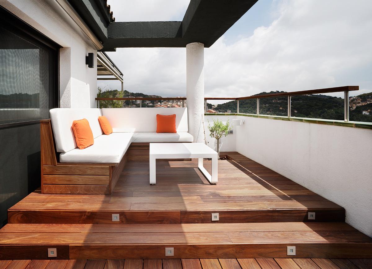 Tico en barcelona de cm2 disseny por - Atico terraza barcelona ...